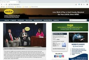 cecil tv local news website