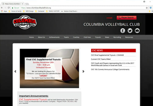 Columbia Volleyball Club