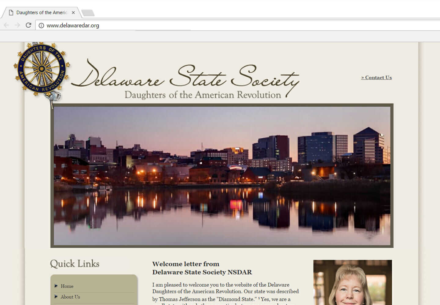 Delaware State Society DAR (Daughters of the American Revolution), Wilmington DE