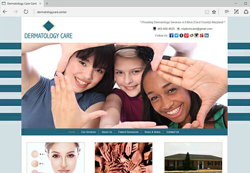 Dermatology Care Center, Elkton MD