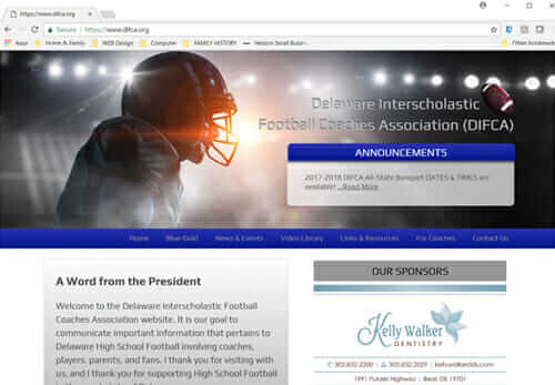 Delaware Interscholastic Football Coaches Assn