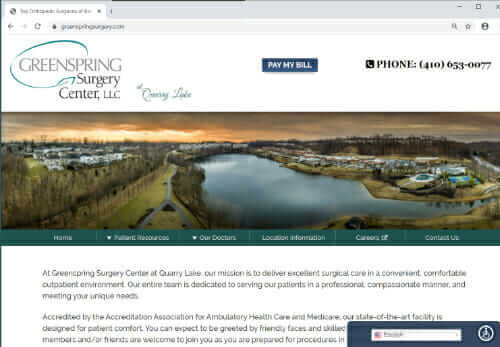 Greenspring Surgery Center at Quarry Lake MD