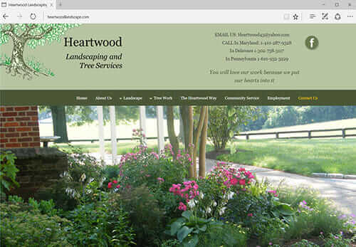 Heartwood Landscaping, North East MD