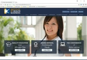 Institute of Health Sciences - Online Education