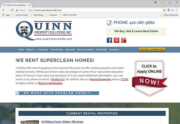 Quinn Properties - Super Clean Rentals