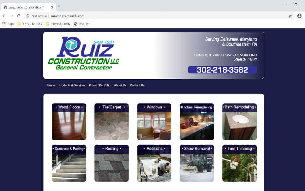 Ruiz Construction DE