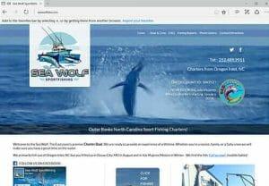 Seawolf Sportfishing Charters, Oregon Inlet NC