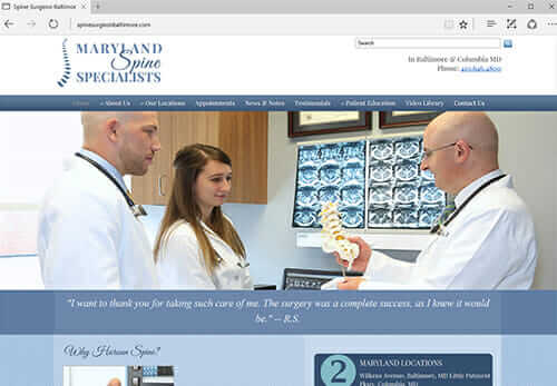 Spine Surgeon, Dr. Raymond Haroun, Baltimore MD