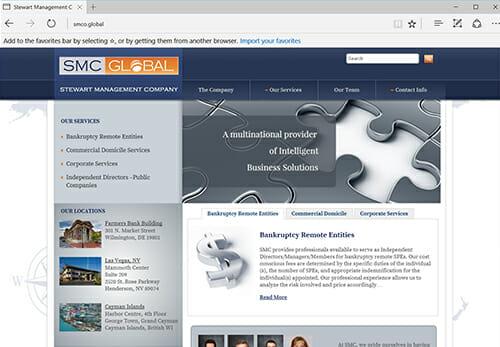 Stewart Management Company-Global