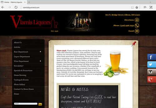 Vlamis Liquors, Elkton MD