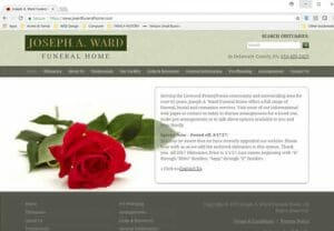 Jos. A. Ward Funeral Home PA