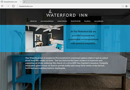 The Waterford Inn, Provincetown MA